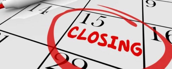 Le Closing